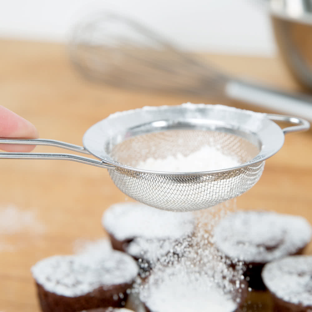 Stainless Steel Strainer with Sugar